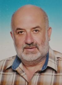 Miloš Košíček, her husband