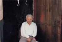 Witness´ father, Mr. Jan Kučera around 1990