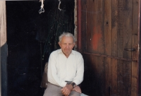 Otec pamětnice, pan Jan Kučera, cca rok 1990