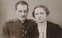 Bohuslav and Božena Závada, her maternal grandparents
