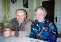 Witness´ parents, Mr. and Mrs. Kučera around 1990