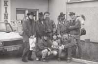 With the Montana country group at the Porta festival, early 1990s