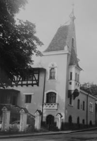 Congregation house in Jeseník where Taizé gatherings took place since 1986