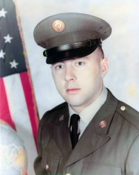 Ján Gadžo as a soldier in US army (1971 - 1973)