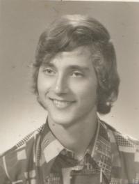 Stanislav Duchek, fotografie ze studijního výkazu z Univerzity Karlovy.