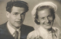 Witness´ marriage on July 18, 1953