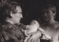 Sergej and Drahoslava with their daughter Tereza