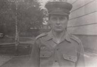 During his military service, Bohumín, 1986