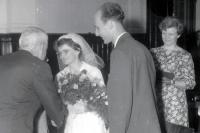 From Milan and Anna Báchorek´s wedding in 1967