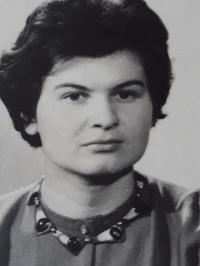 Milena Jelinek in her youth, approximately 1959