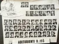 Třídní tablo 1959 - Eliška Bočková je dole 2. zleva
