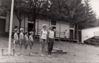 Ledeč nad Sázavou summer camp; 1967 - 1971, Mrs and Mr Pešta