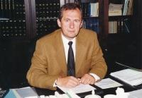 Josef Baxa as a Deputy Justice Minister, 2000