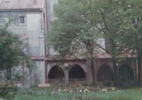 Kláštor v Hronskom Beňadiku (80.te roky)