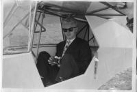 Rudolf Hüttner als ein junger Mann