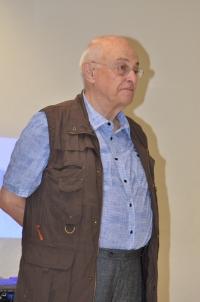 Pavel Taussig v České škole bez hranic Rhein-Main; 2019