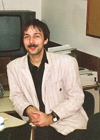 Michal Šaman in early 1990