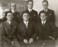 Otec na ředit. pošt v Košicích, 1934