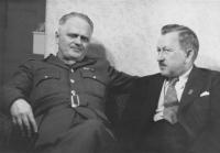 Boh. Ečer a R. Lukaštík, Přerov, asi 1946
