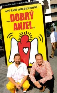 With Andrej Kiska