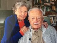 Lázló Regéczy-Nagy with wife, 2019