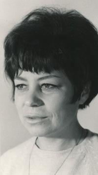Květa Eretová v 60. letech