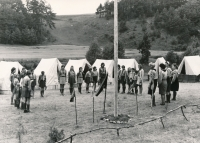 Summer camp in Chramosty. 1969