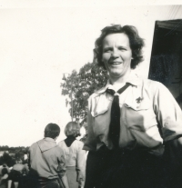 Dagmar Housková in 1969.