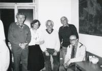 The Junák/Scout executive council. 1990