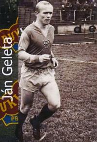 Ján Geleta, fotbalista roku 1967