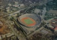 pohlednice tokijského stadionu pro OH 1964