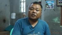 This photo was taken while AAPP was interviewing Kyaw Htun Min (aka) Wa Gyi