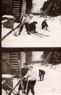A skiing trip.