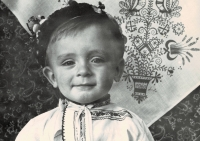 Milan Blažek as a small kid, around the year 1963