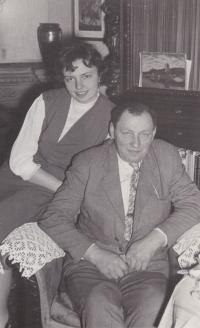 Josef Blažek se svojí dcerou