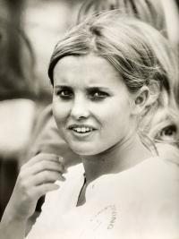 Milena Duchková, 1972