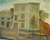 Dům v Hyršově, v němž Anna Fischer strávila dětství