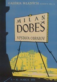 Poster to Milan´s exhibition (1958)