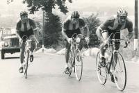 National Team Championship in 100 km in 1976 (Jiří Daler on left)