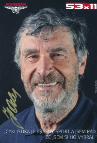 Jiří Daler on the cover of a magazine (53x11) in 2016