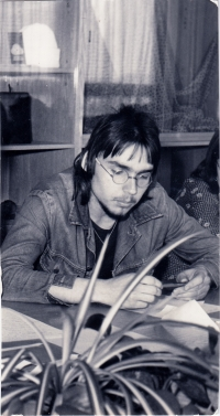 Miloslav Trégl at the Youth Competition during his apprenticeship (1977)