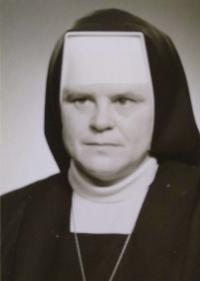 sr. Ľudmila Kalafutová (70.te roky)