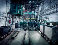Těžba uranové rudy na ložisku Rožná