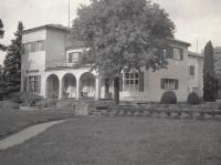 Vila manželů Benešových, Sezimovo Ústí, 1969