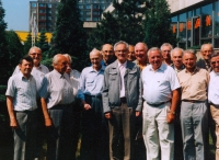 Auxiliary Technical Battalions (PTP) 3rd company reunion; Olomouc, 1993