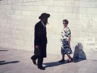 Emilia Sasinova na navsteve v Jeruzaleme