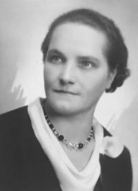 Anastázie Fráňová, his grandmother