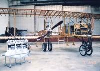 replica of Caproni Ca33 aircraft - machine, in which died M. R. Stefanik