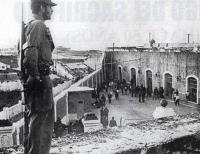 Prision Militar Fortaleza de la Cabaňa – Patio # 1. – Galeras