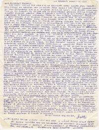 Originales de cartas y documentos de denuncias sacados de forma clandestina desde las prisiones Castro – comunistas (Angel Padro)